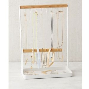 Urban Outfitters wood jewelry stand